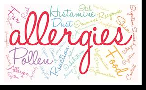 allergies guide pop-ins